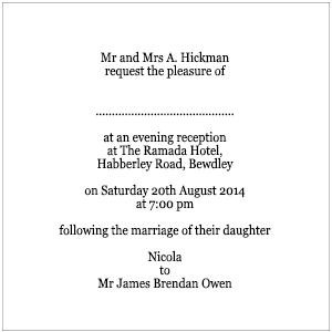 Beautiful wording for wedding reception invitations only gallery wording for invitation to wedding reception only arts arts stopboris Gallery