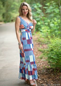 Honey We're Home Stripe Maxi1.